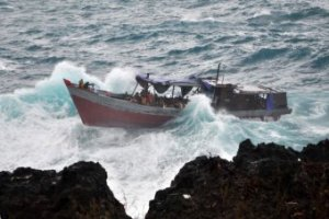 Boat Crash, December 2010